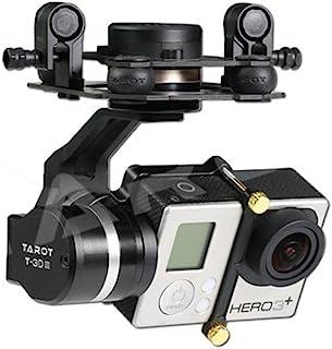 Tarot tl3t01更新からt4–3d 3軸PTZ写真メタルブラシレスジンバルfor GoPro gopro4/ gopro3+ / gopro3