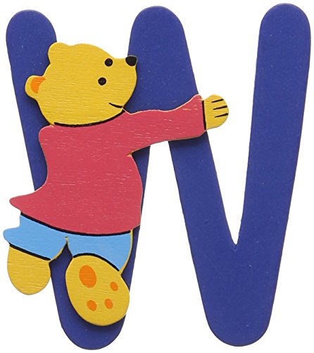 Woodyland - Alfabeto con Orso, 6 x 8 cm