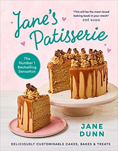 Jane's Patisserie: Deliciously customisable cakes, bakes and treats. THE NO.1 SUNDAY TIMES...