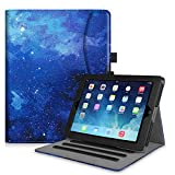 Fintie Case for iPad 2 3 4 (Old Model) - [Corner Protection] Multi-Angle Viewing Smart Stand Cover w/Pocket, Auto Sleep/Wake for iPad 2, iPad 3 & iPad 4th Gen with Retina Display, Starry Sky