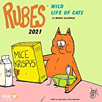 Cal 2021- Rubes Wild Life of Cats Wall (Humour)