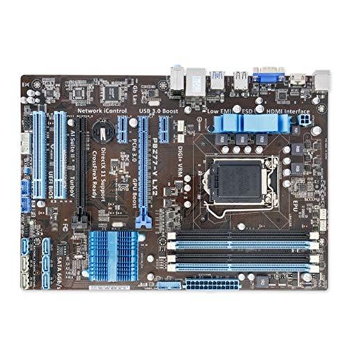 RKRLJX Placas Base Placa Base Juegos LGA 1155 DDR3 FIT FOR Placa Madre Placa Base Fit For ASUS P8Z77-V LX2 Intel Z77 CPU Corei7 / I5 / I3 32GB PCI-E 3.0 USB3.0 PLATABON