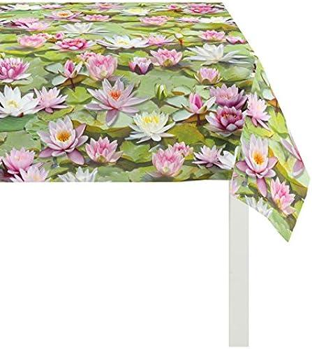 APELT Tischdecke Baumwolle Grün 100 x 250 x 0.5 cm