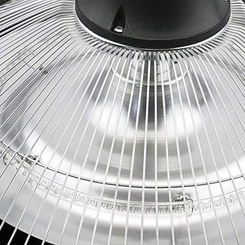 PrimeMatik – Decke Heizung Heizkörper für Innen und Außen Bar Restaurant Terrasse 425mm 1500W mit Fernbedienung - 7
