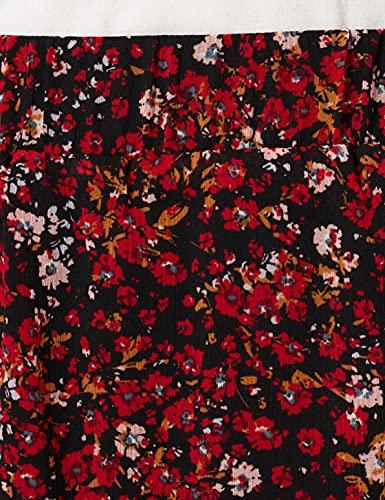 Esprit 081EE1D305 Falda, 003/Black 3, 34 para Mujer