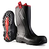 Dunlop C762043.CH S5 PUROF+ Unisex adulto Vástago largo Botas de agua - Negro (negro(Zwart) 00), Unisex adulto, 43 EU