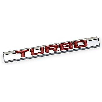 Black 2pcs NEW Supercharged Emblem Decal Metal OEM Front Door Right /& Left Fender Trunk Lid Badge Nameplate Decorative