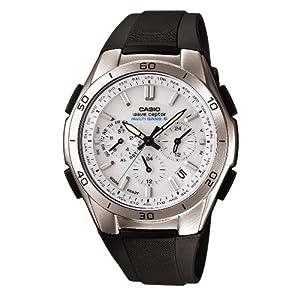 """[カシオ] 腕時計 ウェーブセプター 電波ソーラー WVQ-M410-7AJF ブラック"""""""
