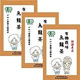 がばい農園 有機栽培 国産 烏龍茶 3g×40包 (お得な3個セット) 有機JAS オーガニック 中国茶