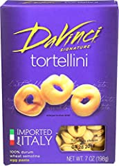Made in Italy 100% Durum Wheat Semolina Warm air dried for al dente taste Authentically Italian Pairs well with any Italian meal