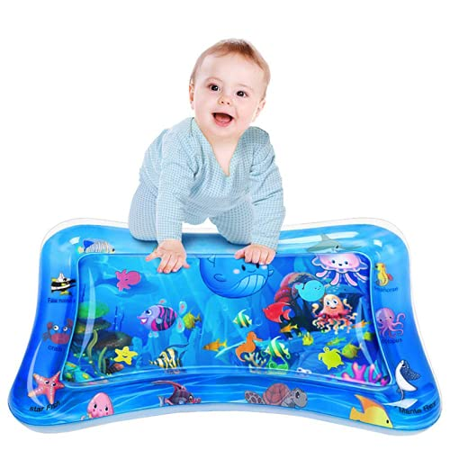 ウォーターマット プレイマット 赤ちゃんおもちゃ 人気 ベビー用 ひんやりマット 上に乗ると気持ちいい ベビーアクティビティマット 暑さ 熱中症の対応 室内&室外用マット