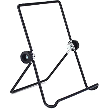 Tablet Holder Stand, Universal Multi-Angle Non-Slip Adjustable Holder Cradle for 9 - 12.9 inch Tablet PC, Pad (Black)