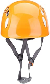 Climbing Helmet Outdoor Sports Safety Helmet Mountain Ice Rock Climbing Cycling Protection Helmets(Orange)