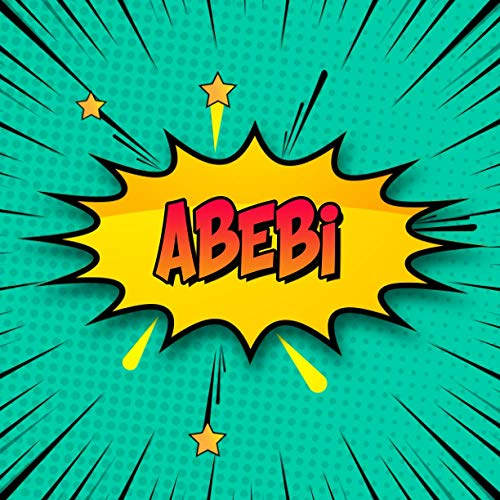 Abebi: Draw Your Own Comic Super Hero Adventures with this Personalized Vintage Theme Birthday Gift Pop Art Blank Comic Storyboard Book for Abebi | 150 pages with variety of templates