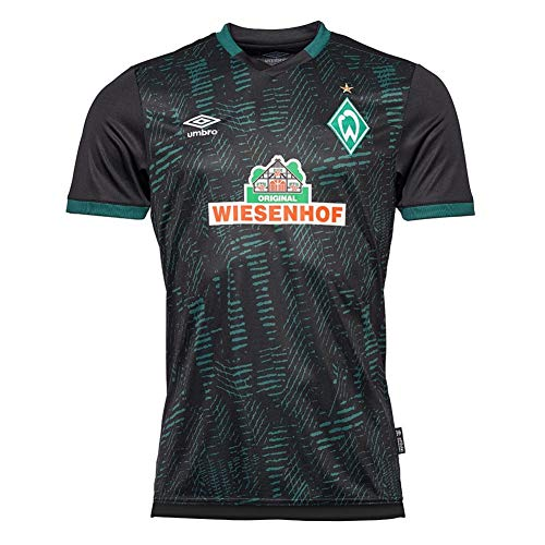 Werder Bremen Umbro 3rd Event Trikot 19/20 (M, schwarz)