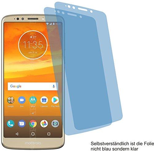 4ProTec I 2X ANTIREFLEX matt Schutzfolie für Motorola Moto E5 Plus Bildschirmschutzfolie Displayschutzfolie Schutzhülle Bildschirmschutz Bildschirmfolie Folie