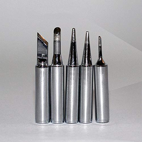 Lötkolben-Kit 60W 110V / 220V-Einstellbare Temperatur Schweißlötkolben Mit Werkzeugkoffer, 5-Teilige Lötspitzen, Entlötpumpe, Lötkolbenständer, Pinzette,110v