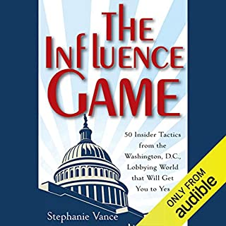 The Influence Game audiobook cover art