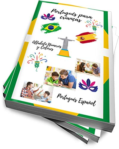 APRENDER PORTUGUES PARA NIÑOS: Alfabeto, Números y Colores, educacion en casa, palabras,...