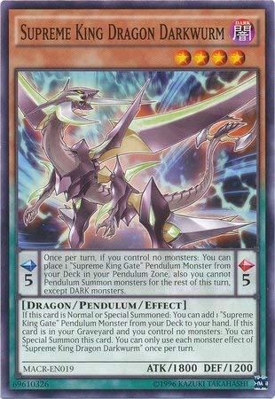yu-gi-oh Supreme King Dragon Darkwurm - MACR-EN019 - Common - Unlimited Edition - Maximum Crisis (Unlimited Edition)