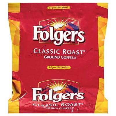 Folgers Classic Roast Medium Roast Ground Coffee, 40- 1.05 Ounce Filter Packs