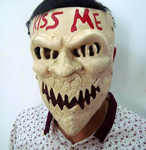 Gmasking Harzmaske für Halloween, zum Neujahr, Kiss Me