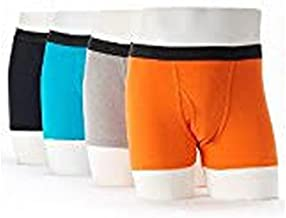 Fruit of the Loom Men's Cotton Stretch Boxer Brief (Packs of 2 and 4)