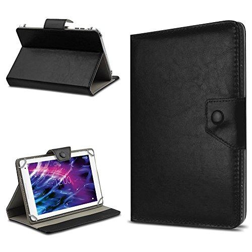 UC-Express Tablet Tasche für Medion Lifetab E10604 E10414 E10412 E10511 E10513 E10501 Hülle Schutzhülle Cover 10.1 Hülle, Farbe:Schwarz