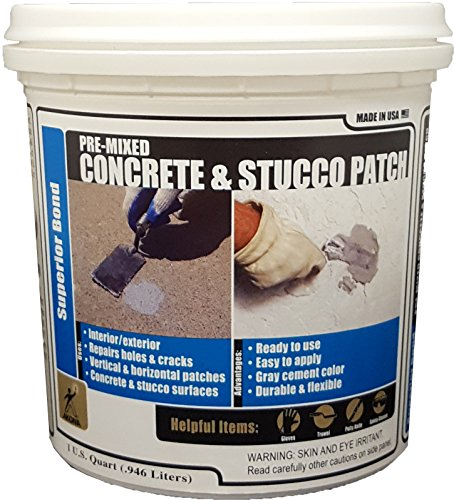 Akona Pre-Mixed Concrete & Stucco Patch - Qt (6 Pack)