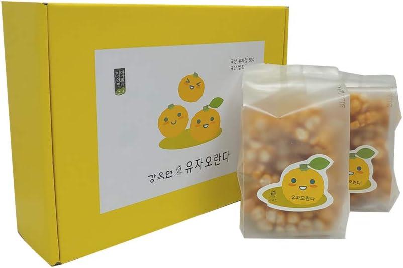 Korean Traditional Bargain sale Handmade Yuja Oranda Snack Citr 2021 Cracker Chips