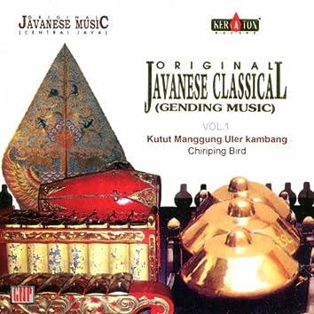 Original Javanese Music: Gamelan Music, Vol. 1 (Kutut Manggung Ular Kambang)