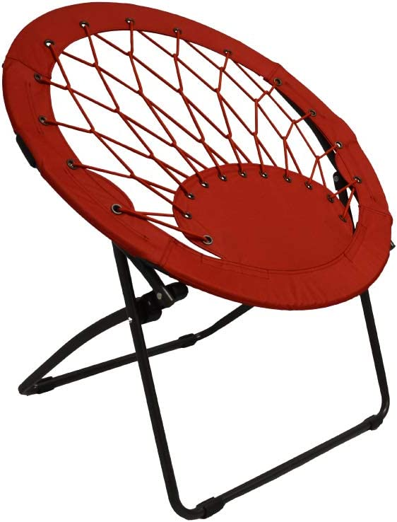 Impact Canopy 460060004 Selling Max 52% OFF and selling Portable Web Red Chair Bungee Folding