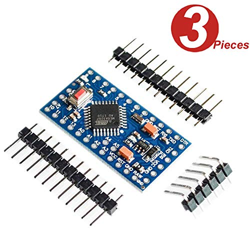 DollaTek 3Pcs Pro Mini Enhancement ATMEGA328P 16MHz