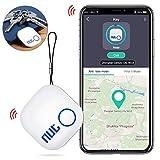 BEBONCOOL Localisateur Intelligent avec Bluetooth App, Localisateur Portable pour Keys, Phones, Wallets, Bags, Localisateur de clés sans Fil Compatible with Android/iOS