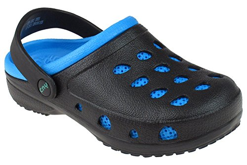Boys Two Tone Clog With Backstrap Combo 12/13