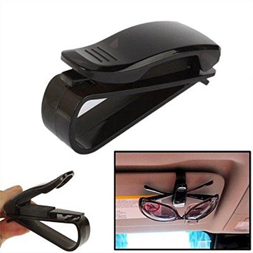 KFZ Brillenhalterung schwarz für Auto PKW LKW Sonnenbrillenhalterung