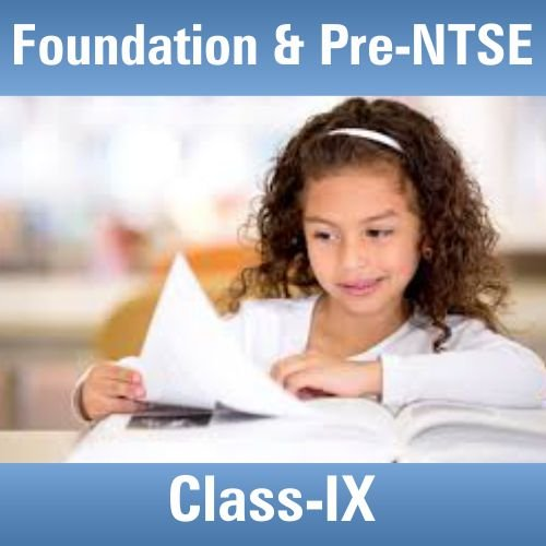 Foundation & Pre-NTSE Books for Class 9th