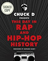 """CHUCK D signed """"Chuck D Presents This Day in Rap and Hip-Hop History"""" Hardcover Book FIRST EDITION 0316412759 Book Cover"""