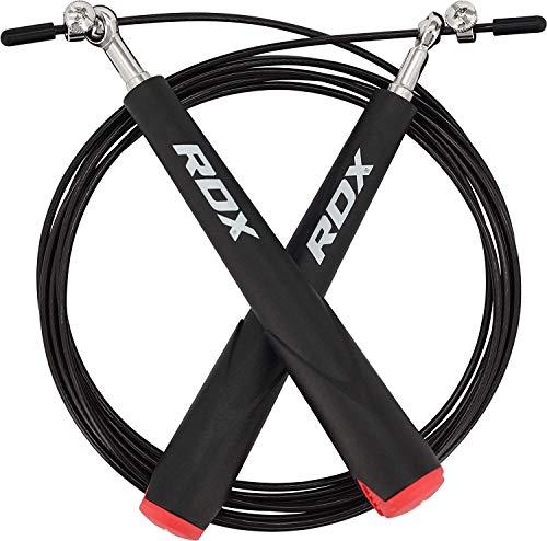 RDX Ajustable Saltar Cuerda Rapida Pérdida Peso Velocidad Saltar Comba...