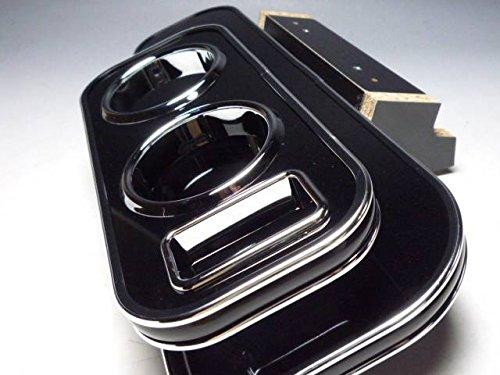 数量限定 DA64エブリィバン、ワゴン フロントテーブル ブラック 携帯ホルダー運転席側 ブラックシルバー
