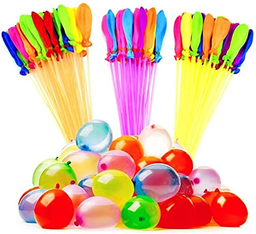 T&B   222 Water Balloons   Self Tying, Self Sealing, Rapid Fill Water Bombs   Instant Summer Fun   Water Fight Domination