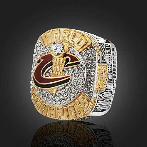 SUSU Cleveland Cavaliers James Championship Ring 2016 Playoffs Basketball Collection Souvenirs Fans Gift Sieraden