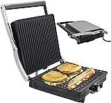 XiaoDong1 Sandwich Electric 180 ° Press Flat Grill Multifunción DIY Tostadora Tostadora Platos antiadherentes Hecho en casa Fácil de Limpiar 2000W para Desayuno Postre Fiesta Hogar Cocina Ni?os