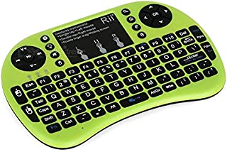 Rii I8 Mini Wireless 2.4g Backlight Touchpad Keyboard With Mouse (green)