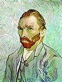 HNZKly Vincent Van Gogh Serie Poster Van Gogh Impresiones Van Gogh Pared Arte Cuadro Famosos Pintor Gogh Pintor Pintor Salon Decoracion 50x70cm / Sin Marco-1 Art