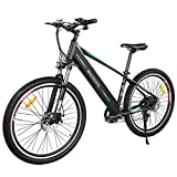Macwheel Wrangler-600 27.5' Electric Mountain Bike Powerful 500W Motor, Removable Lithium Battery 480Wh (48V10AH), Ebike Shimano 7 Speed Gears, Suspension, Range Up to 62 Miles, Top Speed 15.5Mph …
