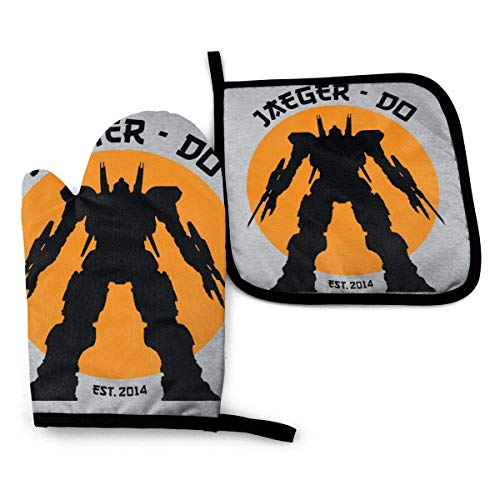 FGHJY Jaeger Do Pacific Rim Karate Kid -Moven Mitts and Pot