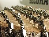 SECURA 4 Stück Ersatzkette für Kettensäge 35cm Dolmar Einhell Bosch Makita | Sägekette 35cm 3/8 1,3 mm 14 Zoll 52 Treibglieder | Ersatzkette Motorsäge Halbmeisselausführung | Sägeketten 35 cm im Paket