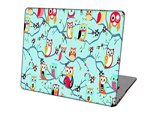 Laptop Case for Newest MacBook Pro 15 inch Model A1707/A1990,Neo-wows Plastic Ultra Slim Light Hard Shell Cover Compatible Macbook Pro 15 inch,Cartoon A 48