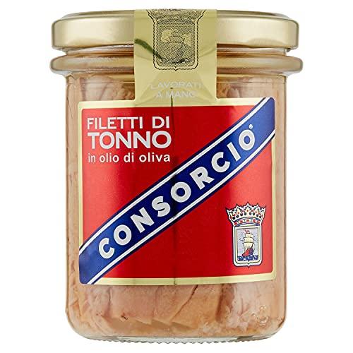 Consorcio Consorcio Filetti Di Tonno In Olio Di Oliva 180G, 1 x 180 g
